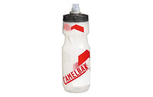 CamelBak Trinkflasche Podium clear/racing red 710ml